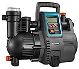 GARDENA Comfort Hauswasserautomat 5000/5E LCD: Hauswasserpumpe mit LC-Display, energiesparend, Fördermenge 5000 l/h, 1300W Motor mit Thermoschutzschalter, Trockenlaufsicherung (1759-20)