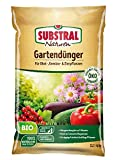 Substral Naturen Bio Gartendünger, natürlicher Universaldünger für Obst- Gemüse- und Zierpflanzen, plus Magnesium, 4 kg