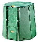 Juwel Thermokomposter AEROQUICK 890 XXL (Nutzinhalt 900 l, für Garten- und Küchenabfälle, Komposter aus UV-stabilen Recyclingkunststoff, mit 2 Entnahmeklappen, Deckel mit Windsicherung) 20157*