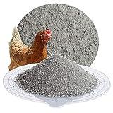 Schicker Mineral Hüfisan Hühnereinstreu aus Diabas Urgesteinsmehl / 25 kg Badesand für Hühner/reines Naturprodukt