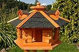 Vogelhaus, Vogelhäuschen behandelt mit Bitumschindeln