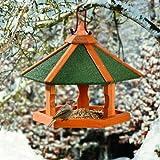 Karlie Bird'S World Wild Vogelhaus Rena 42,5 x 42,5 x 36,5 cm, Naturholz