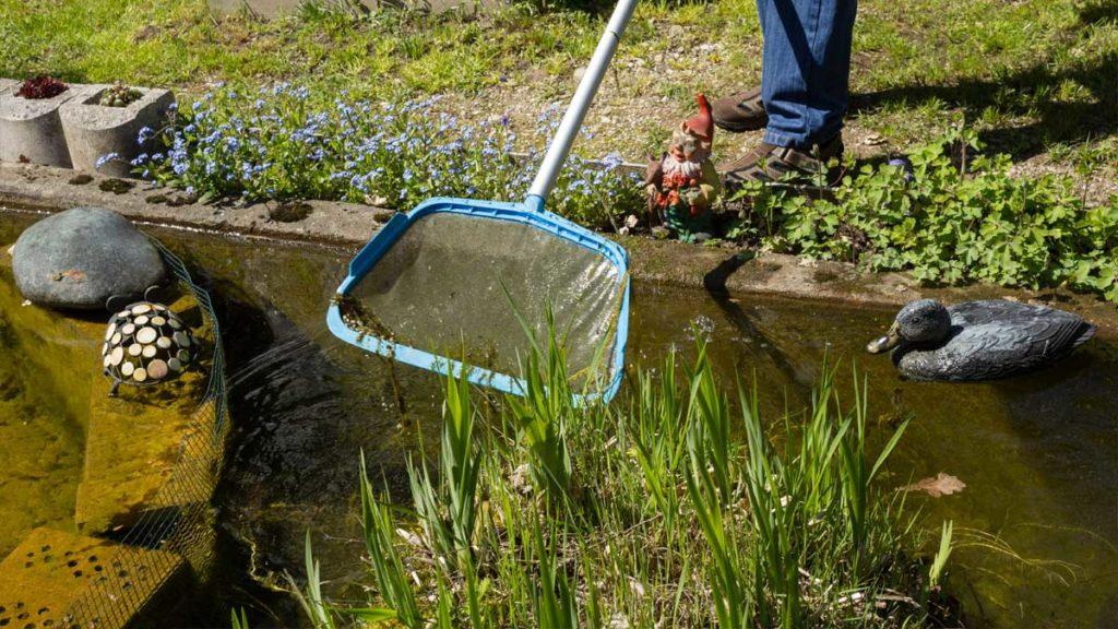Garten-Fibel - Bauanleitung für einen Teichfilter